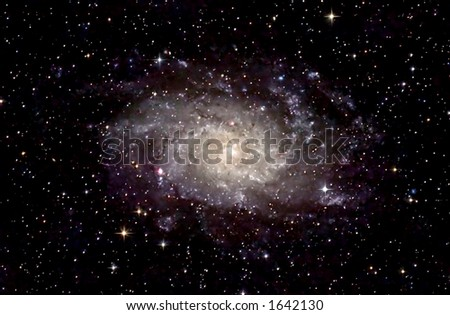 Sprial Galaxy - stock photo