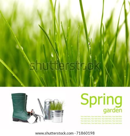 Spring board concept - stock photo