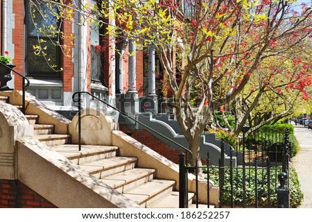Spring in Boston - stock photo