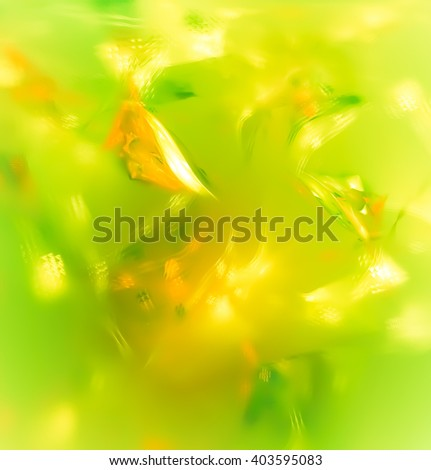 Spring or summer abstract background. Texture is poured, it gives a feeling of surprise, puzzle and uniqueness. Ideal for the decoration of gifts, invitations, bring a touch of charming mystery. - stock photo