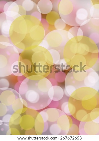 Spring pastel bokeh background - stock photo