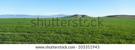 Spring Valley, Antelope Valley, California - stock photo