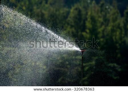 Sprinkler - stock photo