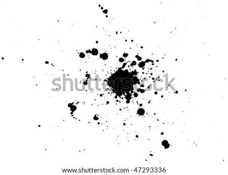 sputter - stock photo