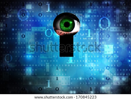 spyware - stock photo