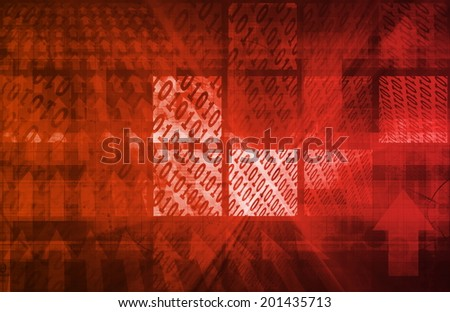 Spyware Network and Scanning Personal Data Information - stock photo
