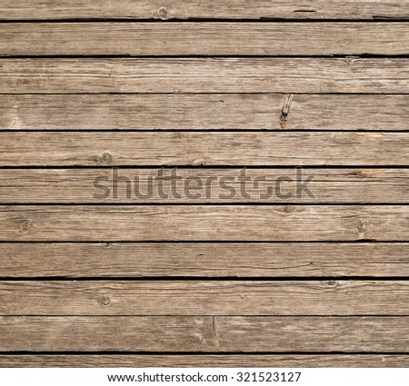 Square background of weathered wooden planks. - stock photo