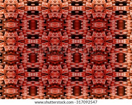 square carpet - stock photo