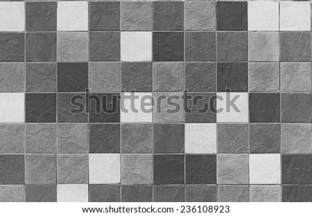 SQUARE TILES SURFACE - stock photo