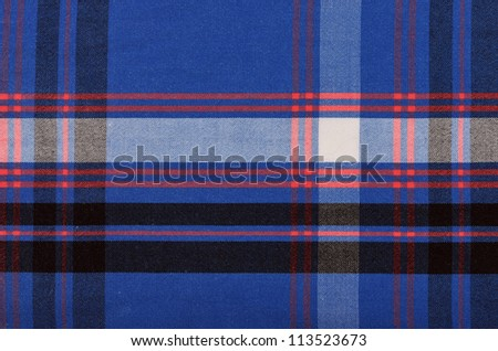 squared textile texture for background - stock photo