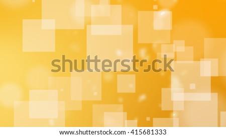 squares on yellow orange background. - stock photo