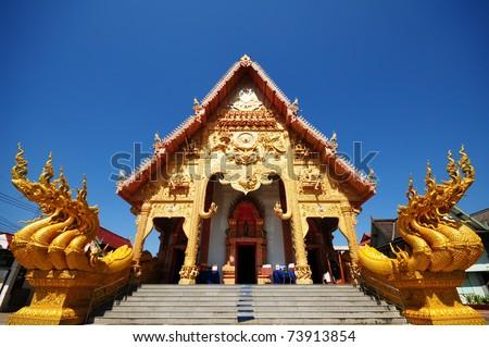 Sripanton measured in Nan Province, Thailand - stock photo