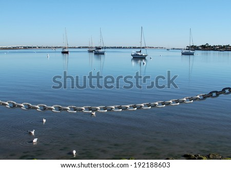 St Augustine - stock photo
