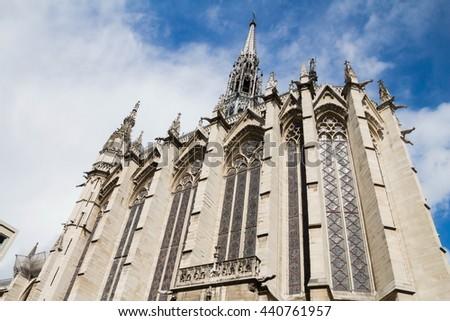 St. Chappelle, Paris, France - stock photo
