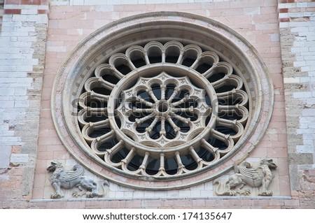 St. Feliciano Cathedral. Foligno. Umbria. Italy. - stock photo