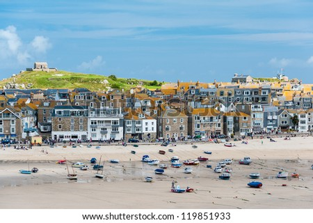 St Ives, Cornwall, UK - stock photo