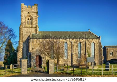 St John the Evangelist's Church, Grayrigg - stock photo