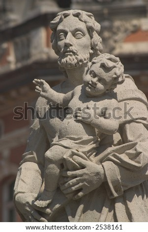 st. Joseph - stock photo