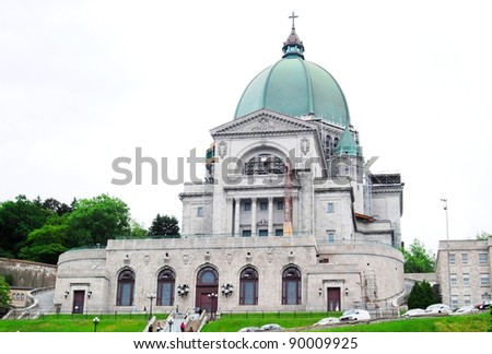 St. Joseph Oratory in Montreal, Canada - stock photo
