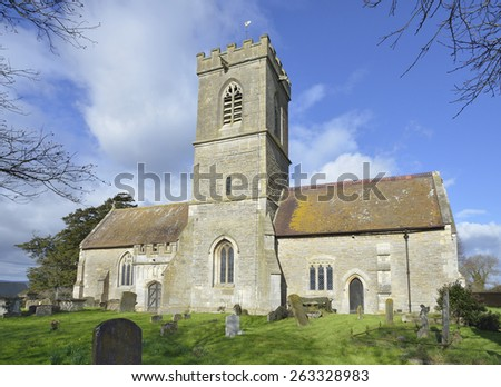 St Laurence Church, LongneyBerkeley Vale, Gloucestershire - stock photo