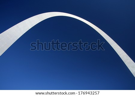 St. Louis arch - stock photo