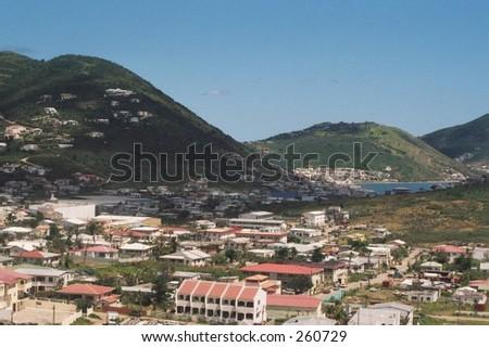 St. Maarten\St. Martin - stock photo
