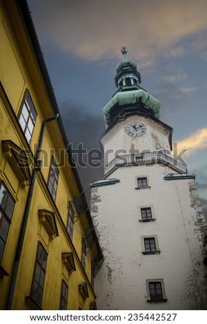 St Michael's Gate Bratislava  - stock photo