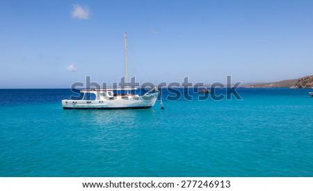 St Michel - Curacao ( Dutch Antilles)  an island in the Caribbean Ocean   - stock photo