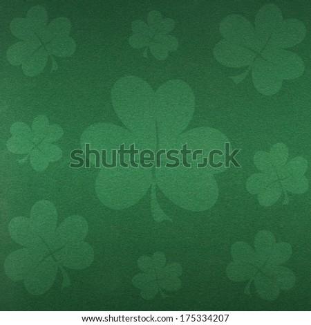 St. Patrick day background - stock photo