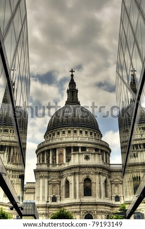 st. Paul cathedral - stock photo