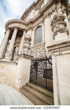 St Paul Cathedral in London - stock photo