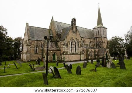 St Paulâ??s Church - Charlestown - England - stock photo