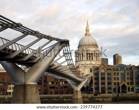 St Pauls cathedral - stock photo
