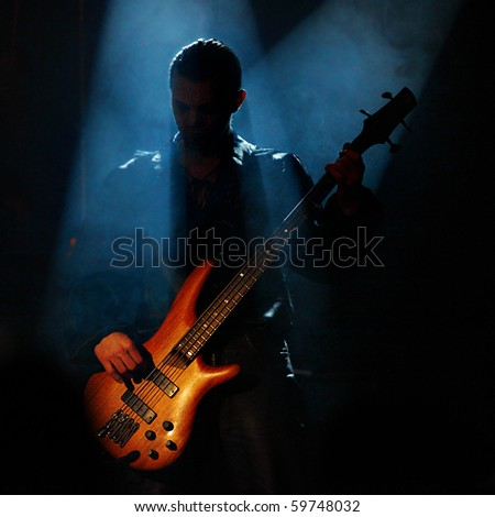 "ST. PETERSBURG, RUSSIA - APRIL 24: GROUP ""Armaga""in concert on April 24, 2010 in St Petersburg, Russia - stock photo"