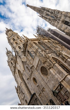 St. Stephen's Cathedral, Vienna, Austria - stock photo