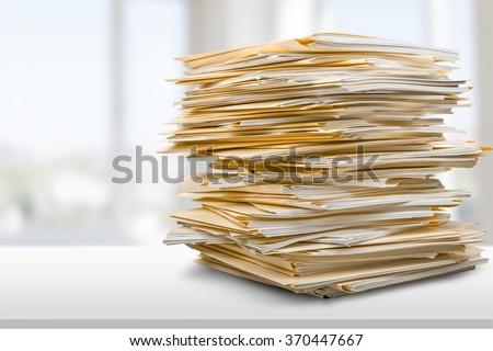 Stack. - stock photo