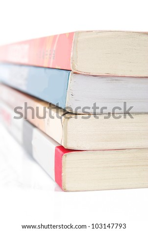 Stack of book - stock photo