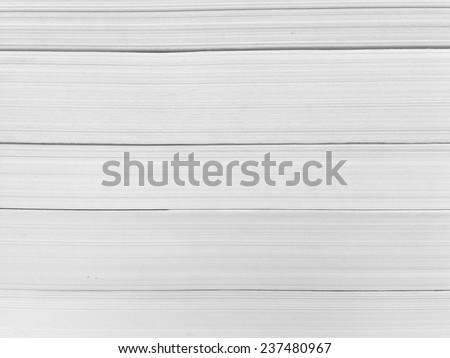 Stack of books / texture of book pages - stock photo