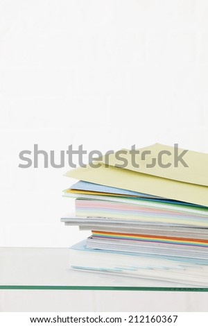 Stack of Paper - stock photo