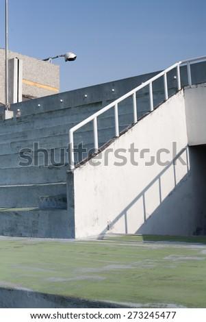 stadium auditorium - stock photo