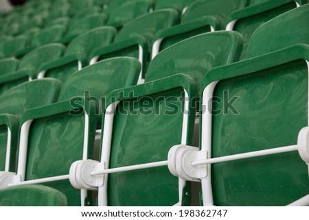 stadium background - stock photo