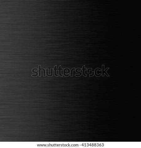 Stainless black background. - stock photo