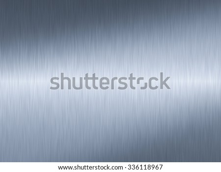 Stainless metal background - stock photo