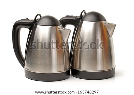 Stainless Steel Kettle  - stock photo