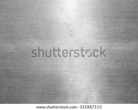 Stainless steel texture - stock photo