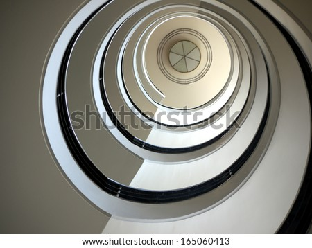 Staircase in Berlin - stock photo