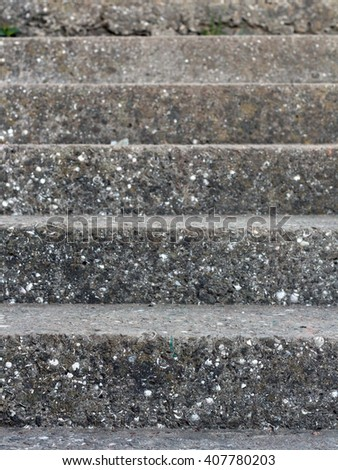 stairs. Abstract modern concrete stairs to building - stairway composition. - stock photo