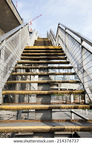 Stairs going up - stock photo