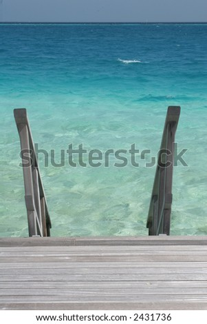 Stairway to Heaven - stock photo