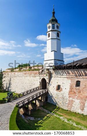 Stambol Gate in Kalemegdan Fortress, Belgrade, Serbia - stock photo